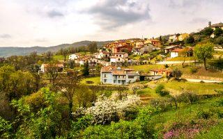 Τυπικό ιταλικό χωριό στους λόφους Berici, λίγο έξω από τη Βιτσέντζα. (Φωτογραφία: VISUALHELLAS.GR)