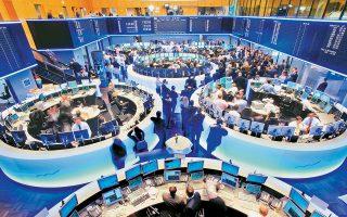 Ο δείκτης Dax στη Φρανκφούρτη, ο Cac-40 στο Παρίσι και ο FTSE-100 στο Λονδίνο σημείωσαν απώλειες 0,3%, 0,4% και 0,9%, αντιστοίχως.
