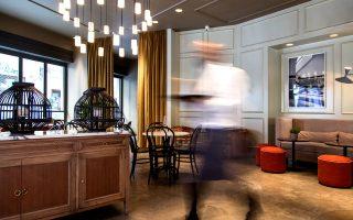 Στο ισόγειο του ξενοδοχείου λειτουργεί το εστιατόριο Il Baretto. (Φωτογραφία: WWW.ALEXANDROSIOANNIDIS.COM)