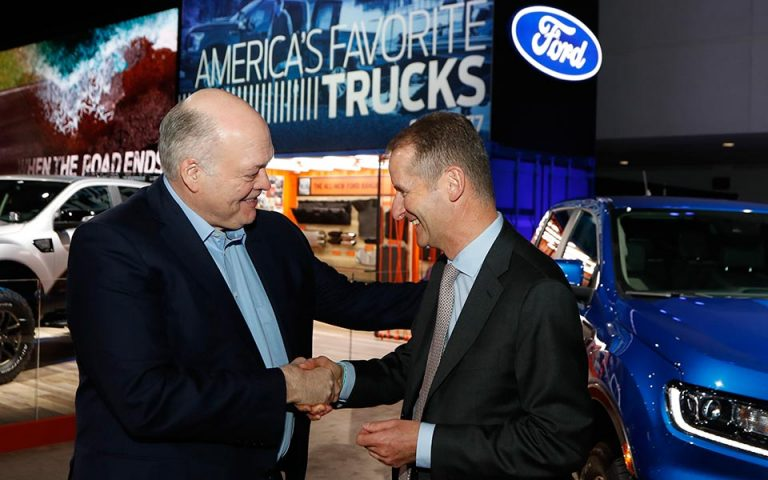 Ολοκληρώθηκε η σύναψη παγκόσμιας συνεργασίας ανάμεσα στις Volkswagen και Ford