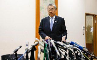 Ο επικεφαλής της ιαπωνικής ολυμπιακής επιτροπής, Τσουνεκάζου Τακέντα, κατηγορείται από τις γαλλικές αρχές για δωροδοκία ώστε το Τόκιο να αναλάβει τους Ολυμπιακούς του 2020.