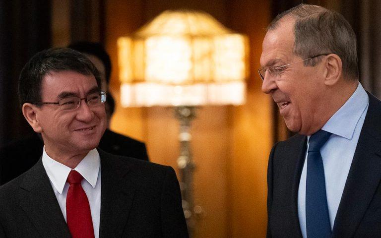 Ρωσία-Ιαπωνία: Δεν σημειώθηκε πρόοδος στις συνομιλίες για τις Κουρίλες νήσους
