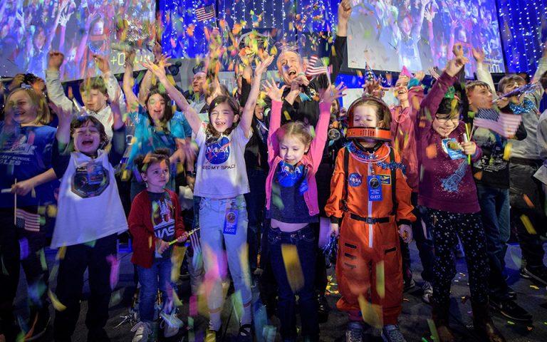 NASA, πάρτι για τη Θούλη την Υστάτη