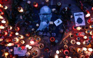 Σοκ προκάλεσε στους πολίτες της Πολωνίας η δολοφονία του δημάρχου του Γκντανσκ Πάβελ Αντάμοβιτς, στις 13 Ιανουαρίου.