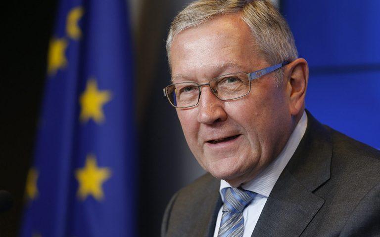 Ρέγκλινγκ: «Βιώσιμο» το ελληνικό χρέος – Την επόμενη εβδομάδα θα δούμε αν τηρούνται οι μεταρρυθμίσεις