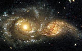 Βρετανοί αστροφυσικοί εκτιμούν ότι ένας γειτονικός γαλαξίας μας, το Μεγάλο Νέφος του Μαγγελάνου, που «ζυγίζει» όσο 250 δισεκατομμύρια άστρα, έρχεται καταπάνω στον δικό μας Γαλαξία και η σύγκρουση φαίνεται αναπόφευκτη σε περίπου 2,5 δισ. χρόνια. Η ανακοίνωση, δυστυχώς, περιλαμβάνει ορισμένες υπερβολές και ανακρίβειες.