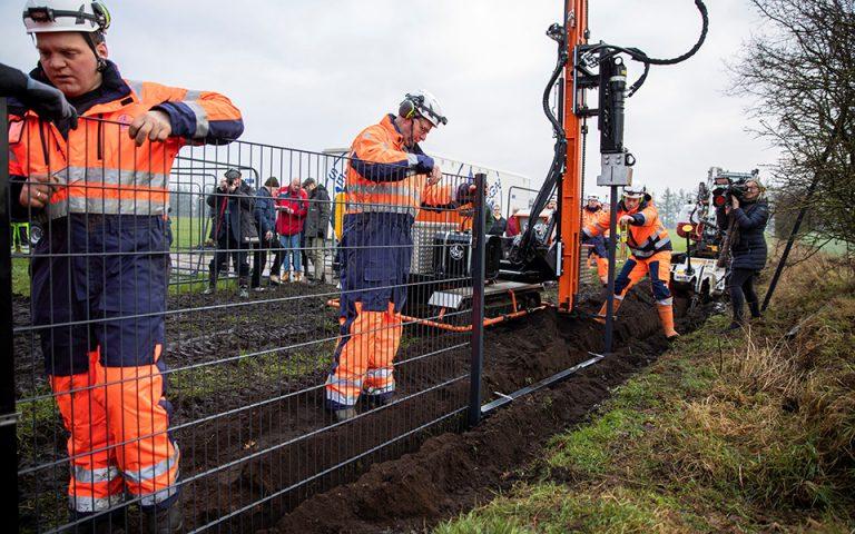 Η Δανία υψώνει φράκτη στα σύνορα με τη Γερμανία, αλλά όχι για τους μετανάστες (βίντεο)