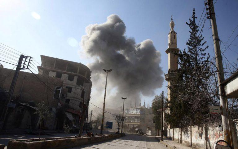Πληροφορίες για έκρηξη στη Δαμασκό μεταδίδουν συριακά μέσα