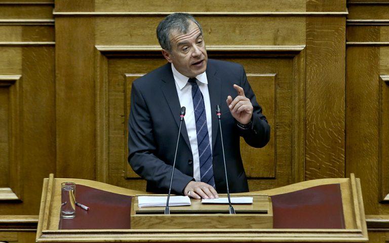Σταύρος Θεοδωράκης: Την άλλη εβδομάδα θα σας πω ποιος «σκότωσε» την Κ.Ο. του Ποταμιού