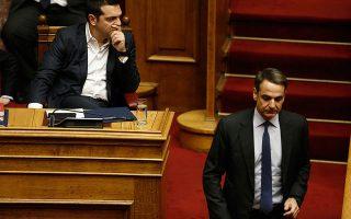 «Οι Ελληνες θα μείνουν ενωμένοι, υπερήφανοι και αξιοπρεπείς. Και σύντομα θα δώσουν στον κ. Τσίπρα την απάντηση που του αξίζει», δήλωσε χθες ο Κυρ. Μητσοτάκης.