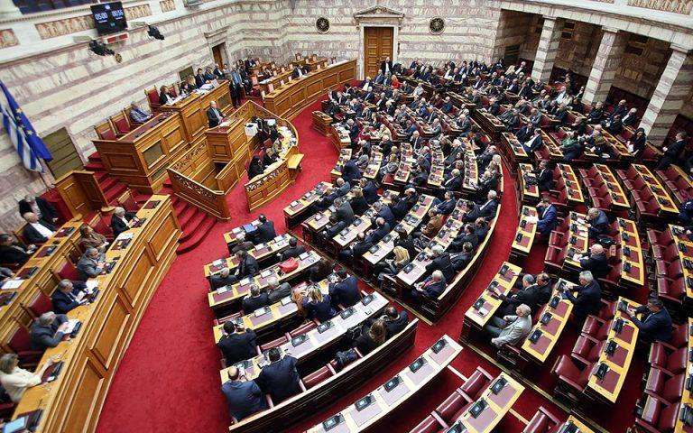 Ακροβασίες στη Βουλή από ΣΥΡΙΖΑ