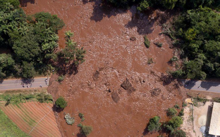 Βραζιλία: 200 αγνοούμενοι μετά την κατάρρευση φράγματος απορριμμάτων σε ορυχείο
