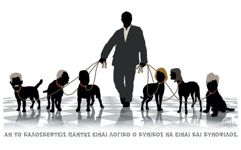 Σκίτσο του Δημήτρη Χαντζόπουλου (15.01.19)