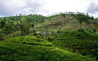 Χωριό στους λόφους ανάμεσα στις φυτείες τσαγιού της Nuwara Eliya. (Φωτογραφία: ΓΙΑΝΝΗΣ ΧΑΤΖΗΙΩΑΝΝΟΥ/Instagram @g_chatzi22)