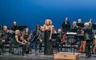 Η γλυκύτητα της φωνής και της έκφρασης χαρακτήρισαν το τραγούδι της Μοραβής μεσοφώνου ΜαγκνταλέναΚόζενα.