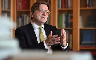 «Μετά το Brexit παρατηρούμε μια αύξηση του ευρωπαϊκού αισθήματος, όχι υπέρ της Ε.Ε. ως θεσμού, αλλά της Ευρώπης», λέει ο κ. Φερχόφστατ.