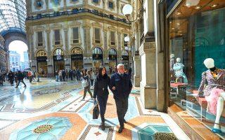 Μετά τις αγορές σας στην Galeria Vittorio Emanuele II, ανακτήστε δυνάμεις με ένα panzerotto από τον φούρνο Luini. (Φωτογραφία: Robert Haidinger/laif)