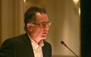 Ο Νίκος Παπανδρέου στη σημερινή παρουσίαση του βιβλίου του