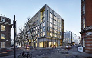 Το κτίριο του Bartlett School του UCL στο Λονδίνο.
