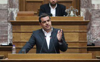 Ο Αλ. Τσίπρας χαρακτήρισε τον Κυρ. Μητσοτάκη «εκφραστή της Ελλάδας των ελίτ».