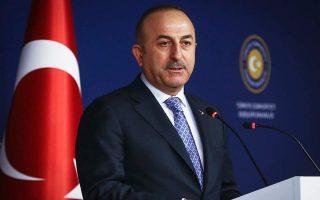 Ο υπουργός Εξωτερικών της Τουρκίας Μεβλούτ Τσαβούσογλου.