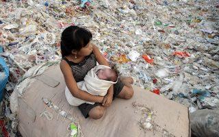 Το πολυβραβευμένο ντοκιμαντέρ «Plastic China» πρόλαβε να γίνει viral αμέσως μετά την κυκλοφορία του, το 2017.