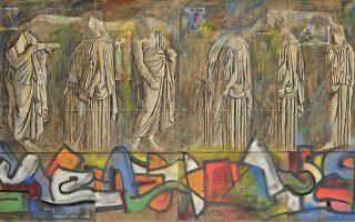gkrafiti-mythoi-archaia-marmara0