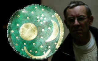 Ο μυστηριώδης «Δίσκος της Νεβρά», που ανακαλύφθηκε στο Χάλε της Γερμανίας, ήταν λατρευτικό αντικείμενο της Εποχής του Χαλκού.