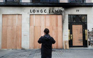 Ζημιές υπέστη κατάστημα αλυσίδας γυναικείων αξεσουάρ.