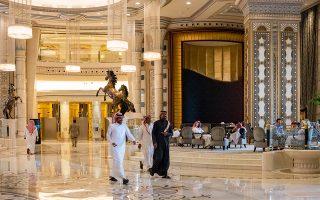 Το ξενοδοχείο Ritz- Carlton, στο Ριάντ, που μετατράπηκε από τον πρίγκιπα Μοχάμεντ μπιν Σαλμάν σε φυλακή πολυτελείας και κέντρο ανακρίσεων μελών της βασιλικής οικογενείας και επιχειρηματιών.