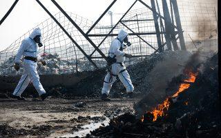Η φωτιά στο Κέντρο Διαλογής Ανακυκλώσιμων στον Ασπρόπυργο ξέσπασε τον Ιούνιο του 2015 και έκαιγε επί τρεις μήνες.
