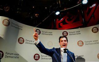 Ο 36χρονος νικητής των περιφερειακών εκλογών Τιερί Μποντέ.