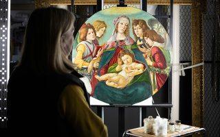 Η «Παρθένος του ροδιού» αποδείχθηκε ότι δεν είναι αντίγραφο, αλλά έργο που φιλοτεχνήθηκε στο εργαστήριο του Σάντρο Μποτιτσέλι στη Φλωρεντία.