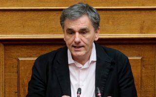 «Εχουμε το πράσινο φως και από την ΕΚΤ», υποστήριξε ο κ. Ευκλείδης Τσακαλώτος.