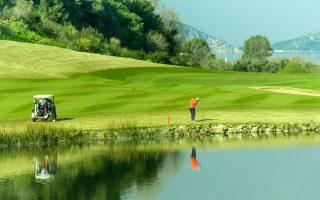 Στιγμιότυπο από το 3ο Messinia Pro-Am. Πρωταθλητής αναδείχθηκε ο Alessandro Tadini (PGA of Italy), με τον Stuart Boyle (PGA of Great Britain & Ireland) στη 2η θέση και τον Tomas Gouveia στην 3η (PGA of Portugal). Στην κατηγορία των ομάδων, την πρώτη θέση κατέκτησε η ομάδα του Tomas Gouveia με τους ερασιτέχνες Lyubomir Minchev, Konstantin Sinapov και Ivailo Dimchev. (Φωτογραφία: ΗΛΙΑΣ ΛΕΦΑΣ)