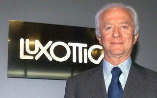 Ο ιδρυτής της Luxottica Λεονάρντο ντελ Βέκιο (φωτ.) και το αφεντικό της Essilor Ουμπέρ Σανιέρ, αφού κατέληξαν σε συμφωνία 53 δισ. δολαρίων το 2017, βρίσκονται σήμερα σε έντονη αντιπαράθεση.