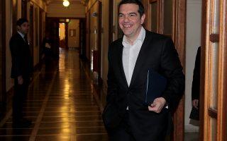 Ο πρωθυπουργός Αλέξης Τσίπρας προσέρχεται στη συνεδρίαση του Υπουργικού Συμβουλίου, Δευτέρα 28 Ιανουαρίου 2019.  Συνεδρίασε στη Βουλή το Υπουργικό Συμβούλιο υπό την προεδρία του πρωθυπουργού Αλέξη Τσίπρα. ΑΠΕ-ΜΠΕ/ΑΠΕ-ΜΠΕ/Παντελής Σαίτας