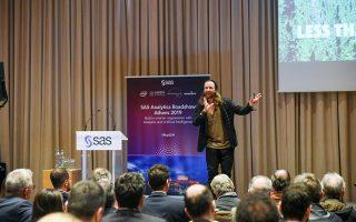 Ο Αντερς Ιντσετ, γνωστός και ως Rock and Roll Πλάτωνας, μίλησε στο πλαίσιο συνεδρίου ελληνικής εταιρείας ανάλυσης δεδομένων.