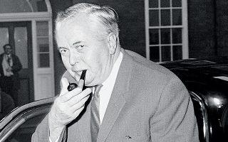Ο Βρετανός πρωθυπουργός Χάρολντ Ουίλσον παραδέχθηκε ότι ανησυχούσε για την επιβολή δικτατορίας, ωστόσο οι σχέσεις Λονδίνου - Αθήνας δεν διαταράχθηκαν. ASSOCIATED PRESS