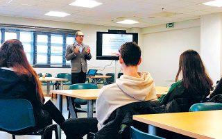 Το διήμερο σεμινάριο επικεντρώθηκε στην επιμόρφωση των νέων σε ευρωπαϊκά θέματα και στον επαγγελματικό προσανατολισμό εντός Ε.Ε.