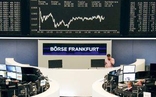 Ο δείκτης Dax στη Φρανκφούρτη (φωτ.) και ο δείκτης FTSE-100 στο Λονδίνο αναρριχήθηκαν 0,64% και 0,26%, αντίστοιχα.