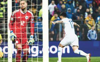 Mε άπιαστη κεφαλιά στο 85΄ ο Κολοβός χάρισε τον πολύτιμο βαθμό της ισοπαλίας στην Εθνική απέναντι στη Βοσνία, που προηγήθηκε με 2-0 στο α΄ ημίχρονο κατά το οποίο η ελληνική ομάδα ήταν σχεδόν... απούσα από το γήπεδο.