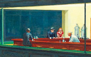 Εντουαρντ Χόπερ, «Ξενύχτηδες», 1942. (Λεπτομέρεια)