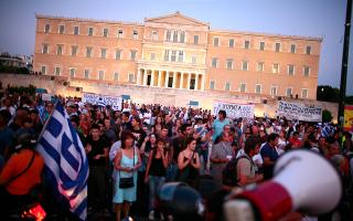 Δυστυχώς, οι επιθέσεις με τις ευλογίες του ΣΥΡΙΖΑ δεν έγιναν μόνον ειςβάρος των κορυφαίων στελεχών της Κεντροαριστεράς. EPA/SIMELA PANTZARTZI