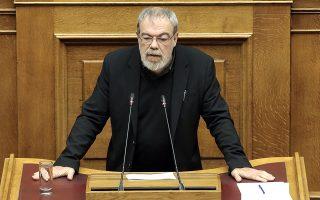 Ο βουλευτής του ΣΥΡΙΖΑ Γιώργος Κυρίτσης μιλάει στην Ολεμέλεια της Βουλής, στη συζήτηση για τον Προϋπολογισμό του έτους 2019, Αθήνα, Τρίτη 18 Δεκεμβρίου 2018.  ΑΠΕ-ΜΠΕ/ΑΠΕ-ΜΠΕ/ΣΥΜΕΛΑ ΠΑΝΤΖΑΡΤΖΗ