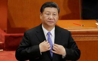 Ο Ζινπίνγκ προσπαθεί να διατηρήσει την εικόνα του «απλού ανθρώπου» από το 2012 όταν και ανέλαβε την εξουσία της χώρας. (REUTERS/Jason Lee)