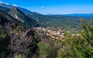 Πανοραμική θέα του χωριού. (Φωτογραφία: ΚΛΑΙΡΗ ΜΟΥΣΤΑΦΕΛΛΟΥ)