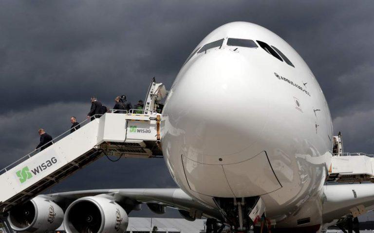 Μικρότερη των αρχικών ανακοινώσεων η κινεζική παραγγελία στην Airbus