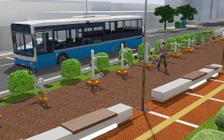 Στα σχέδια περιλαμβάνονται έργα πρασίνου και αποκατάσταση του τοπίου. Η σιδηροδρομική σήραγγα Σεπολίων αναμένεται να ολοκληρωθεί το 2021.