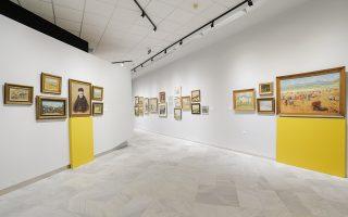 Σε νέα εποχή εισέρχεται η Δημοτική Πινακοθήκη Λάρισας - Μουσείο Γ. Κατσίγρα με την επανέκθεση της συλλογής της. Η ξενάγηση από την επιμελήτρια Συραγώ Τσιάρα αποκάλυψε τη νέα φιλοσοφία, η οποία αναδεικνύει με σύγχρονες αντιλήψεις τα έργα της νεοελληνικής ζωγραφικής που συγκροτούν την περίφημη συλλογή του ιατρού Γεωργίου Κατσίγρα.